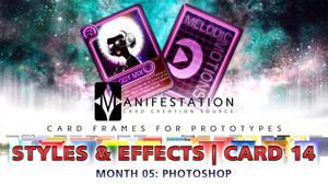 Month 05: Card 14 - Photoshop (S + E   Modern Age)