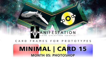 Month 05: Card 15 - Photoshop (Minimal | Sci-Fi) by CauseThought