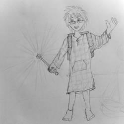 Sketch: my OC Daniel