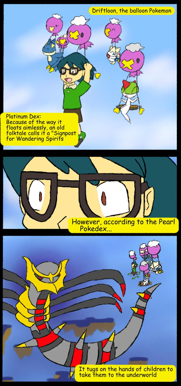 how to get drifloon on pokemon platinum