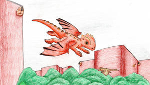 Mythical Creatures Challenge- Dragon