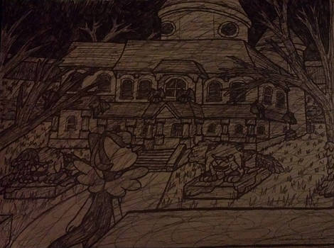 ChiChi and the Haunted Mansion