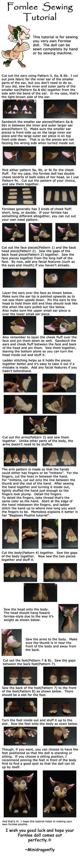 Fornlee Plushie Sewing Tutorial