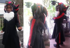 Shadow the Hedgehog jacket cosplay
