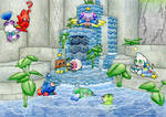 The Neutral Chao Garden 1 by MiniDragonfly