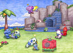 The Neutral Chao Garden 2 by MiniDragonfly