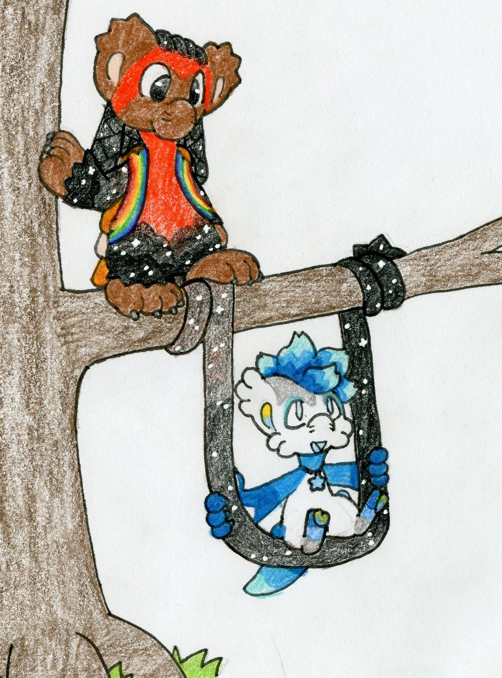 Bagbean Gift- Tail Swing