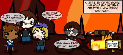 ITSW: Bleach's Hot Hole by Noraneko-Sparks