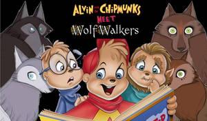 Alvin and the Chipmunks meet Wolfwalkers
