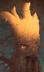 Treebeard by allendouglasstudio