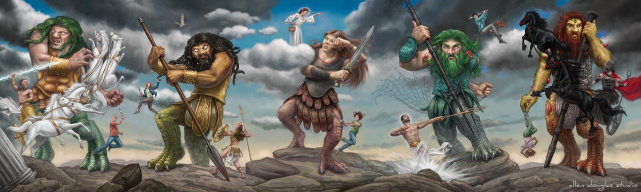 Percy Jacksons Greek Gods by Rick Riordan John Rocco