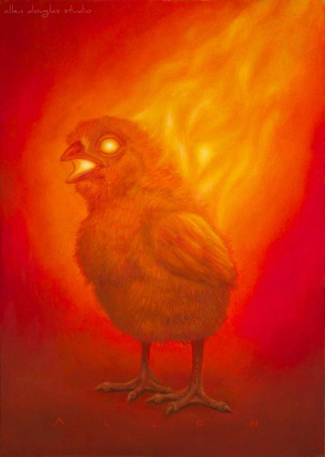 Hot Chick by allendouglasstudio