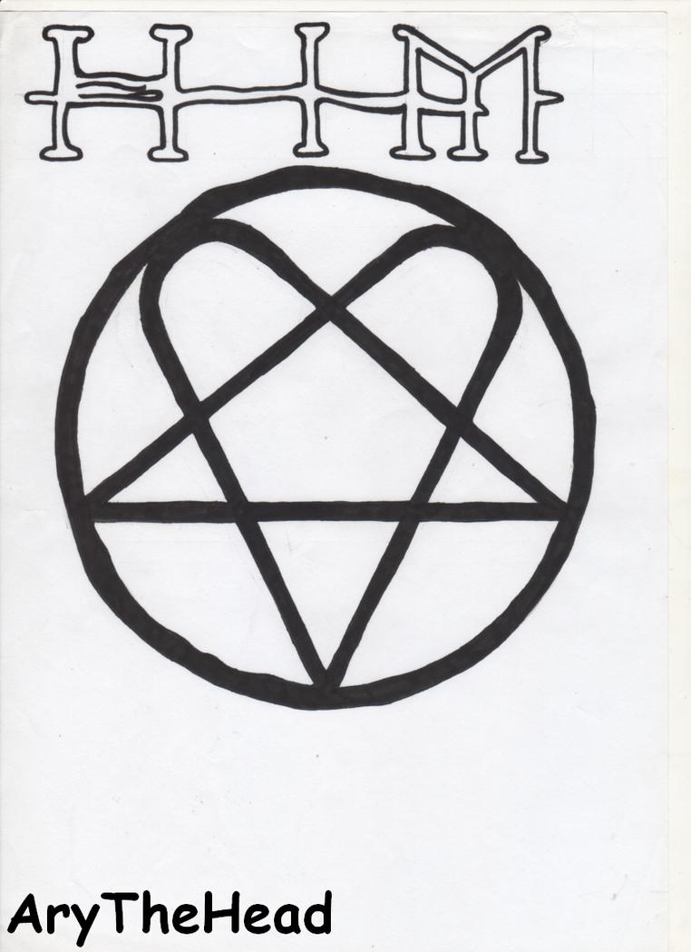 HIM Logo by AryTheHead on DeviantArt