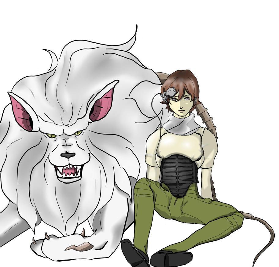 Kazuya and Pascal by atrum-ovis