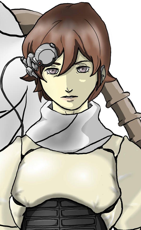 Kazuya close up by atrum-ovis