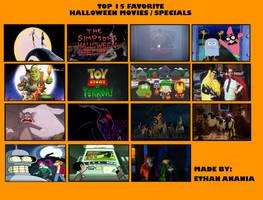 Top 15 Halloween Episodes/Specials