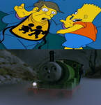 Percy Gets Scared Of Treehouse Of Horror 5