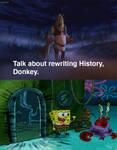 Shrek And Donkey Impressed By Mr Krabs' Defeat