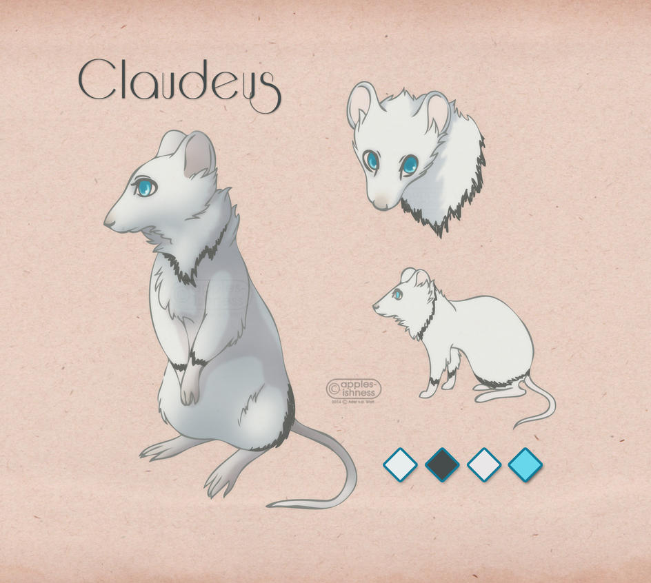 Claudeus Ref Sheet by apples-ishness