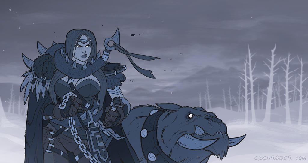 Dragon Slayer by cschroder