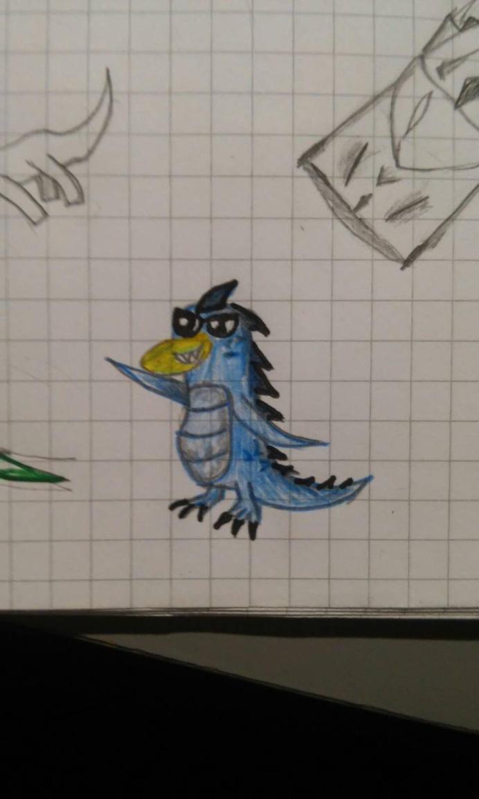 Sneshosaur by RBD9510