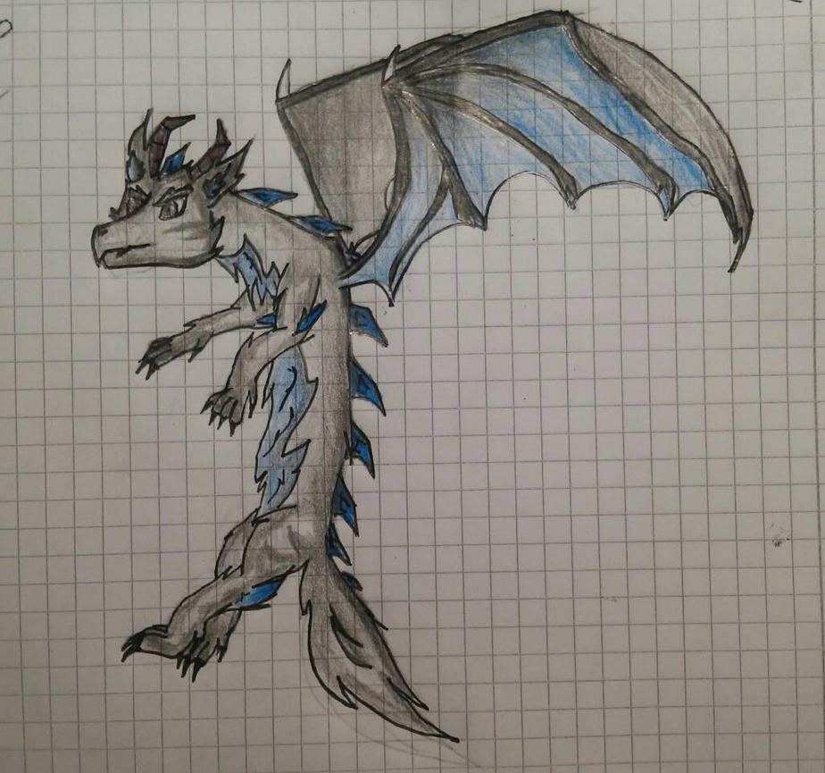 Dragonwolf by RBD9510