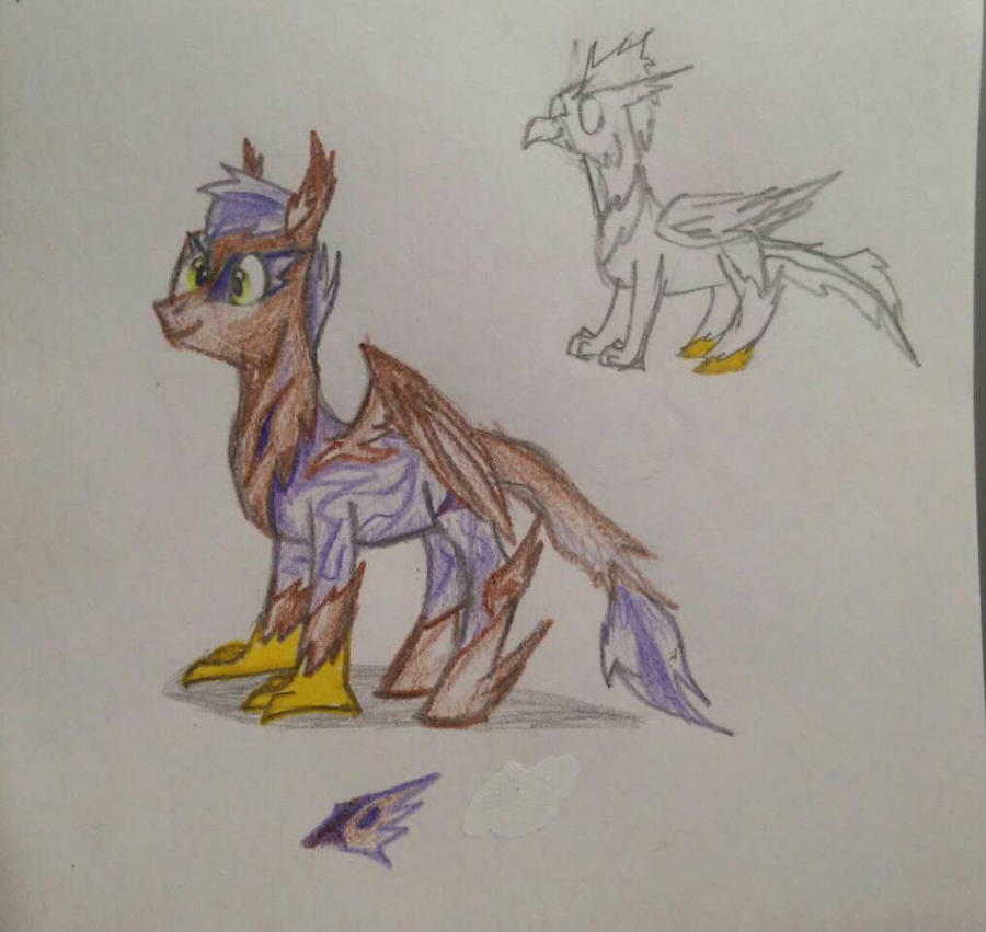Ponygriff OC by RBD9510