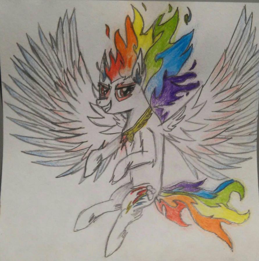 Super Rainbow Dash by RBD9510