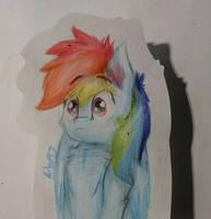 blue speed pony by LW9510