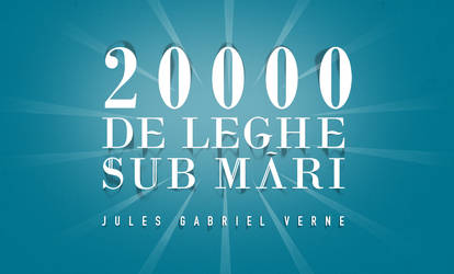 20.000 Leagues Under the Sea by Jules Verne by MihisDesign