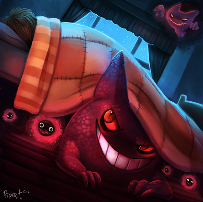 Daily 3 - Gengar by Cryptid-Creations