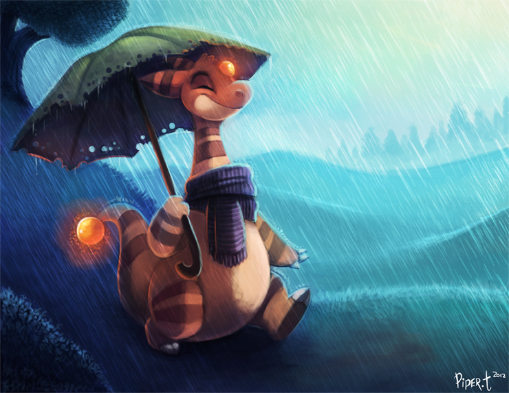Daily 5 - Ampharos by Cryptid-Creations