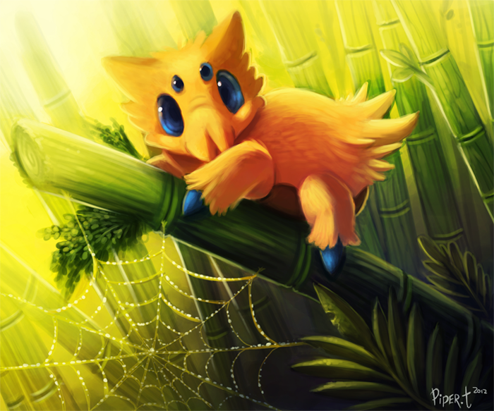 Daily 7 - Joltik by Cryptid-Creations