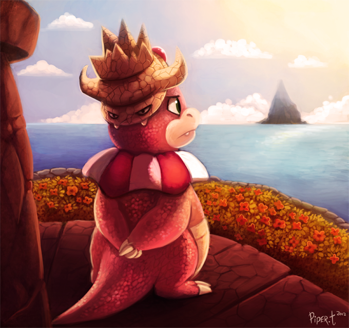 Daily 12 - Slowking by Cryptid-Creations