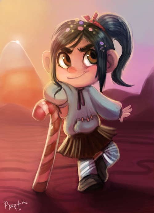 Daily 8 - Vanellope (50 Minutes) by Cryptid-Creations