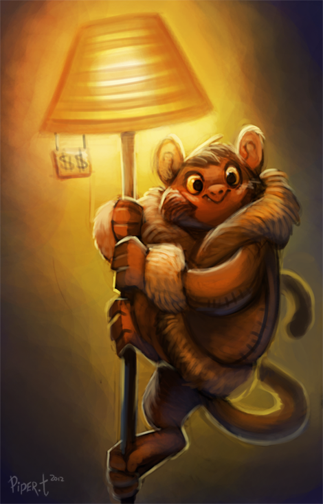 Oni [Locker] Day_22__ikea_monkey___35_minutes__by_cryptid_creations-d5nvhnn