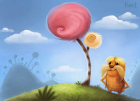 DAY 66. The Lorax (35 Minutes) by Cryptid-Creations