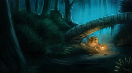 DAY 91. Troll Bridge (45 Minutes) by Cryptid-Creations