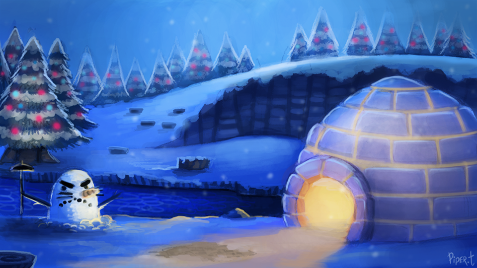 DAY 125  Animal Crossing - Winter (35 Minutes) by Cryptid