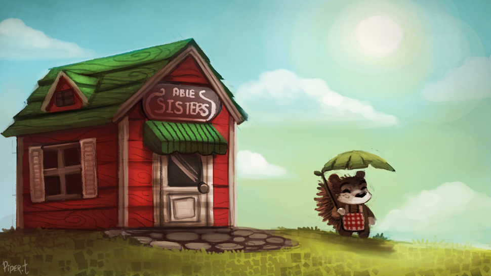 DAY 127. Animal Crossing - Abel (30 Minutes)