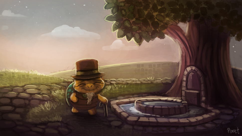 DAY 128. Animal Crossing - Fountain (35 Minutes)
