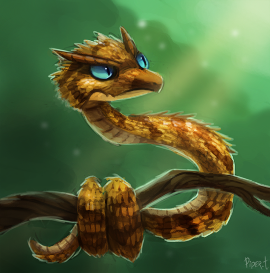 Horned Viper Drawing Horned Viper 25 Minutes by