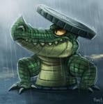 DAY 153. Manhole Gator (25 Minutes)