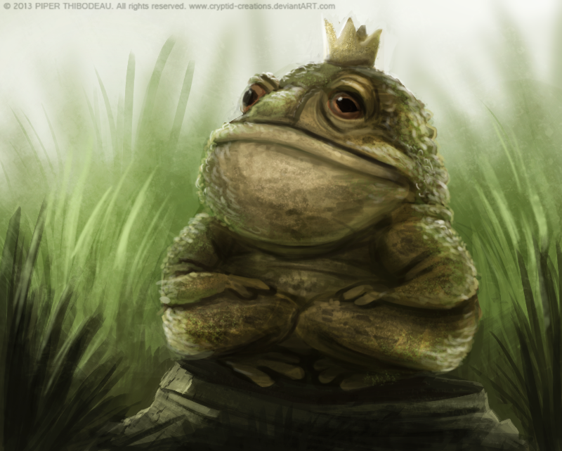 DAY 240. Toad King by ...