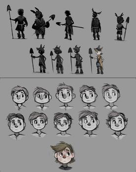 Sidhe - Character Development 01