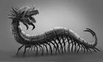 DAY 271. Centipede Monster