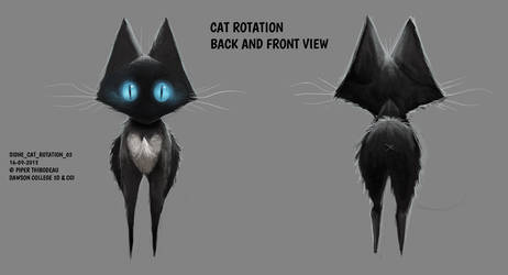 DAY 301. Sidhe - Cat Rotation 2 by Cryptid-Creations