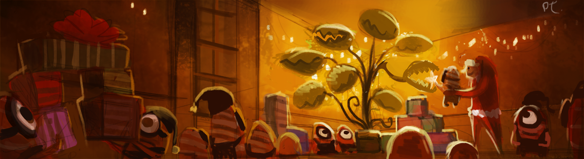 DAY 381. Despicable Me Christmas (WIP - PART 1) by Cryptid-Creations