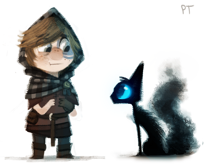 DAY 431. Lonan and the Sidhe doodle