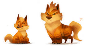 DAY 468. Kanto 058 - 059 by Cryptid-Creations